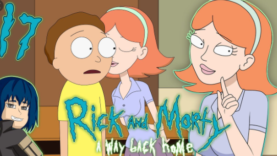 Rick And Morty A Way Back Home v2.7f Game Free Download for PC